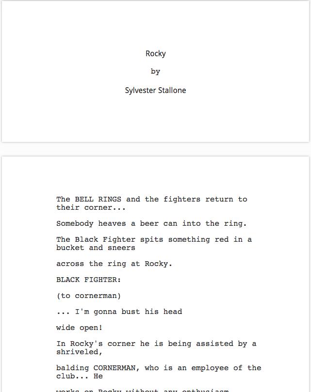Scripts Editor